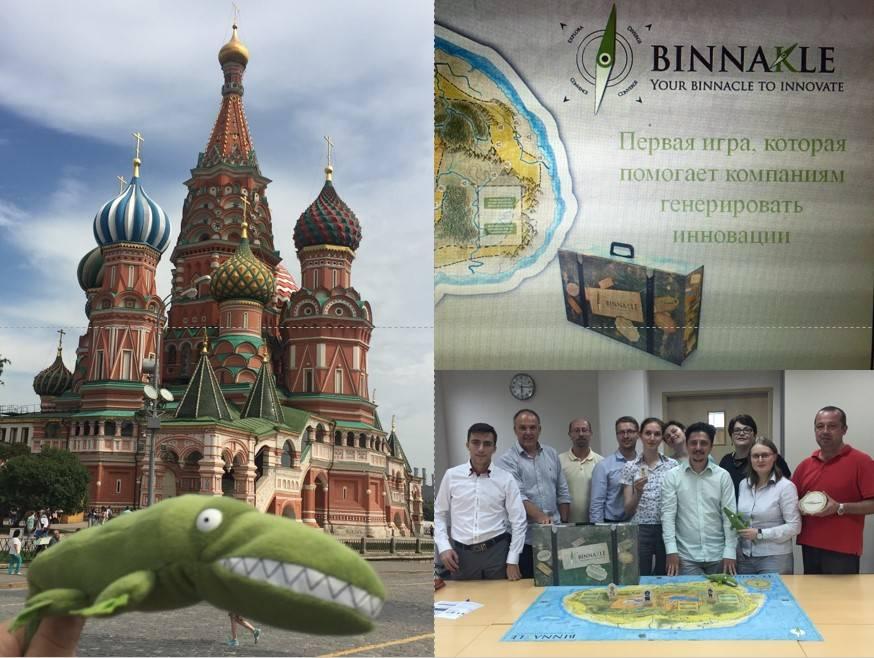 El equipo de Binnakle en Rusia